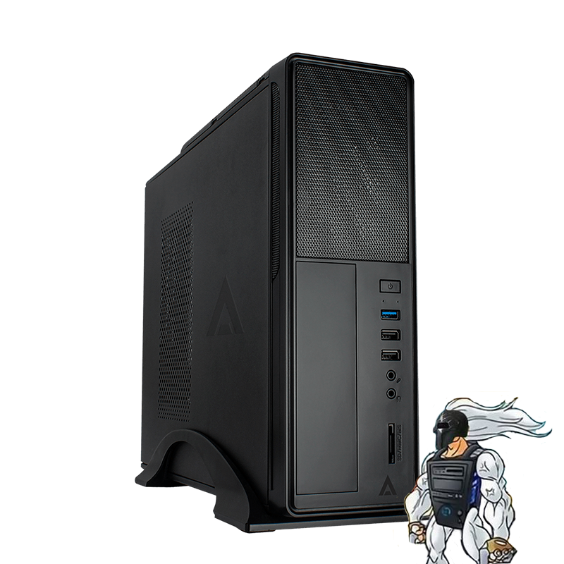 PC Spartan Bike Home Office: Ryzen 3 3200G, 8GB, 240GB SSD