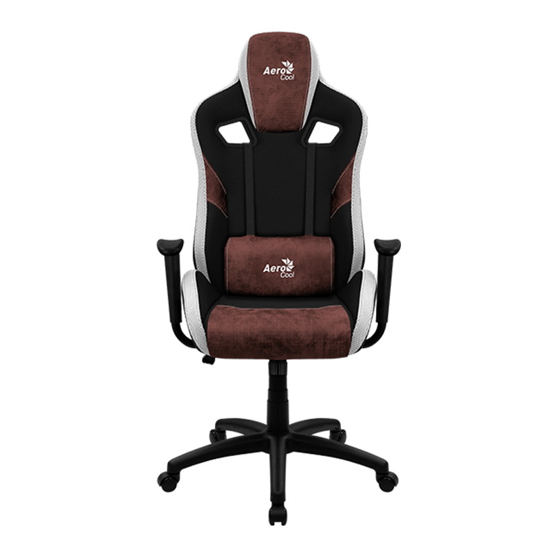 Silla Gamer Aerocool Count Burgundy Red