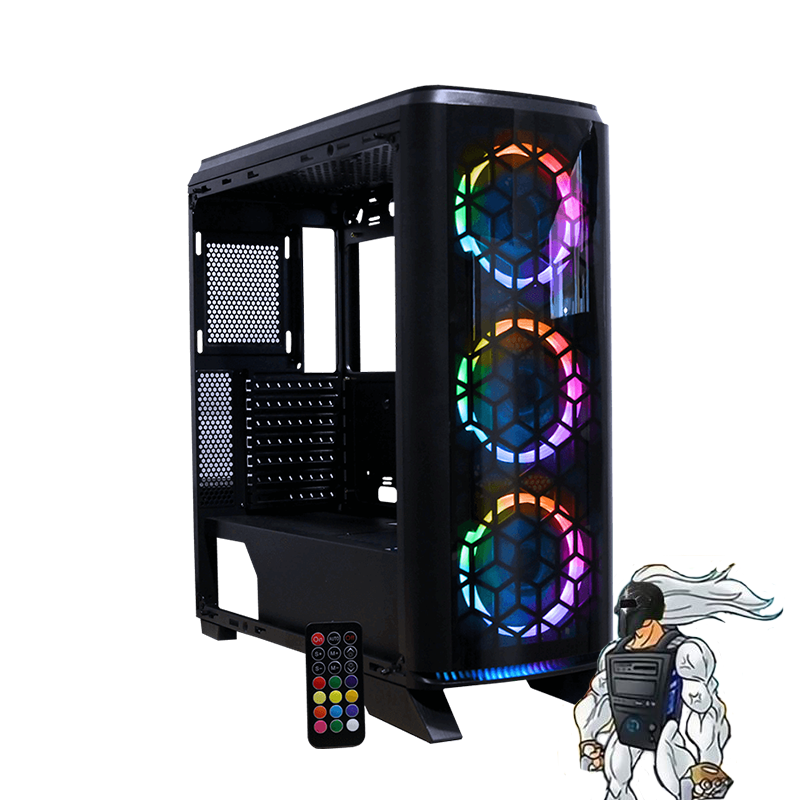 PC Gamer S-970: i9 9900K, 2070 Super, 16GB, 1TB+480GB SSD.