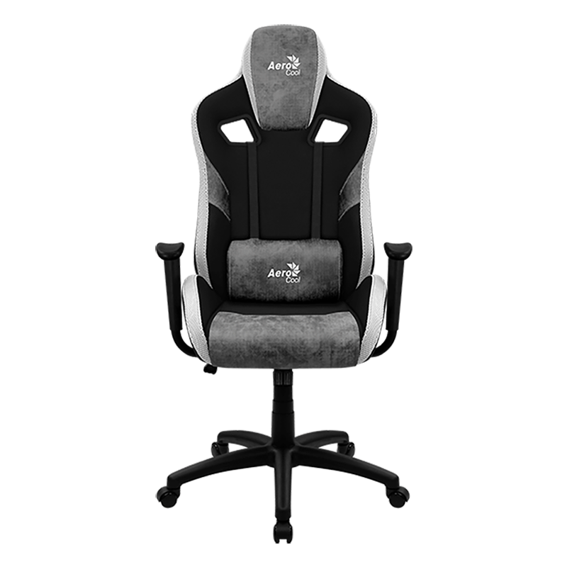 Silla Gamer Aerocool Count Stone Gray