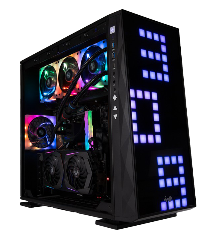 Thanos 2080i / In Win 309 Negro