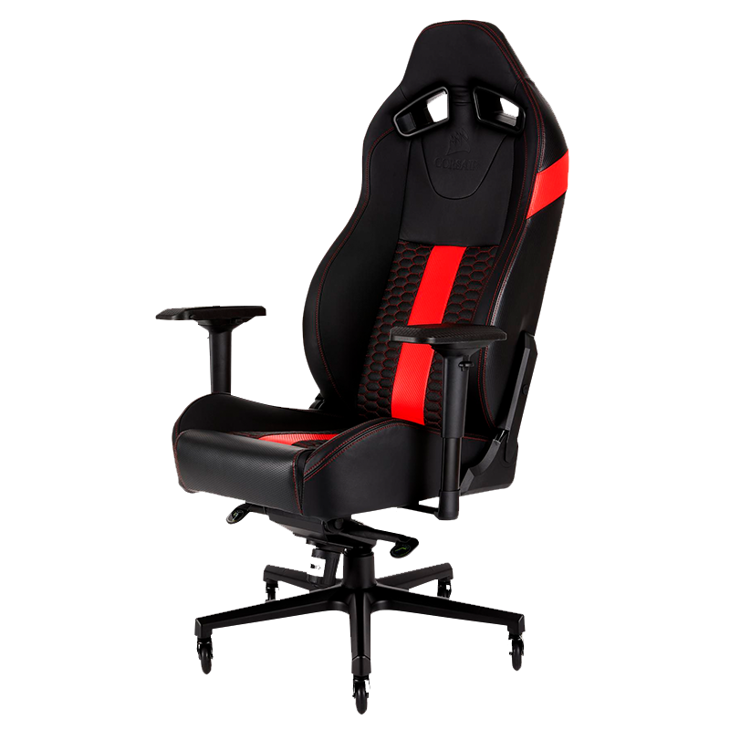 Silla Gamer Corsair T2 Road Warrior Rojo